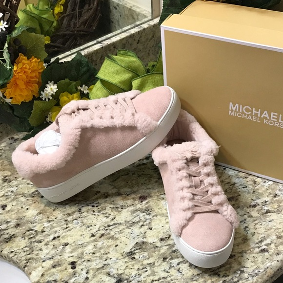 2951e65b6 MICHAEL Michael Kors Shoes | Nib Michael Kors Poppy Pink Lace Up ...